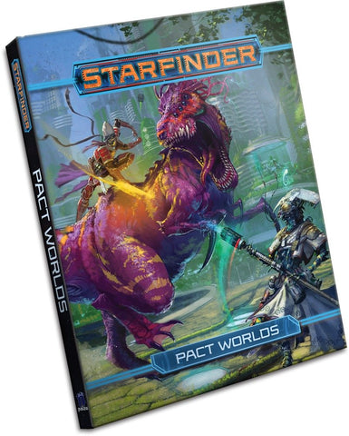Starfinder Roleplaying Game: Pact Worlds Hardcover - WyldekardeWorld