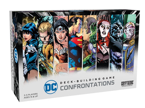 Cryptozoic Entertainment DC Comics Dbg Confrontations Board-Games - WyldekardeWorld