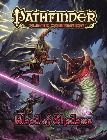 Pathfinder Player Companion: Blood of Shadows Paperback - WyldekardeWorld