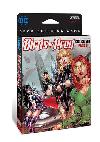 Cryptozoic Entertainment DC Comics Dbg Crossover Pack 6 Birds of Prey Board-Games - WyldekardeWorld