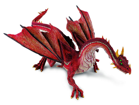 Safari Ltd Mountain Dragon Realistic Hand Painted Toy Figurine for Ages 4 and Up - WyldekardeWorld