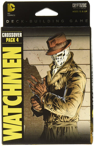 DC Comics Deck Building Watchmen Card Game - WyldekardeWorld