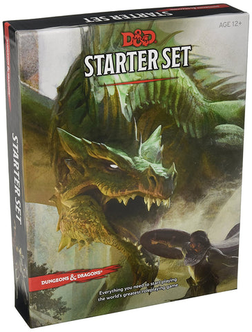 Dungeons & Dragons Starter Set: Fantasy D&D Roleplaying Game 5th Edition (RPG Boxed Game) - WyldekardeWorld