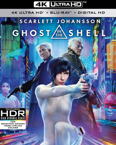 Ghost in the Shell 2017 4K