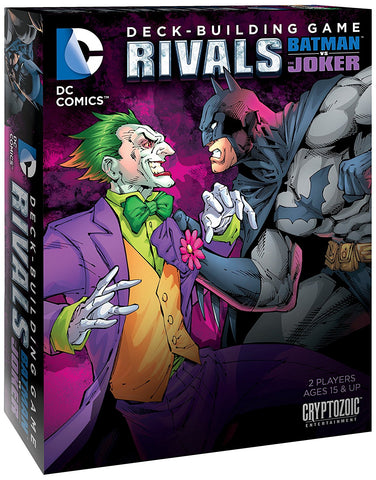 Rivals Batman vs The Joker Deck Building Game - WyldekardeWorld