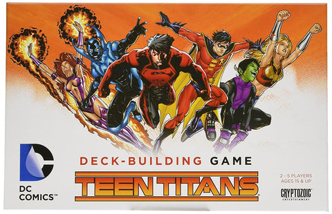 DC Comics Deck-Building Game: Teen Titans - WyldekardeWorld