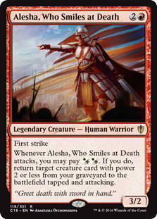 Alesha, Who Smiles at Death - WyldekardeWorld