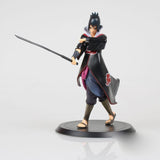 1Pcs Naruto Shippuden Uchiha Sasuke Figures Sasuke PVC Action Figure Toy Collectible Model Doll Toys 17cm Approx Free Shipping - WyldekardeWorld