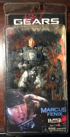 Gears of War Marcus Fenix Action Figure - WyldekardeWorld