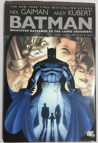 Batman: Whatever Happened to the Caped Crusader? Harcover - WyldekardeWorld