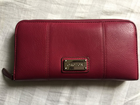 Red Oroton Wallet Authentic