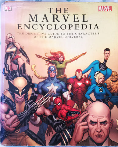 Marvel Encyclopedia: The Definitive Guide to the Characters of the Marvel Universe - WyldekardeWorld