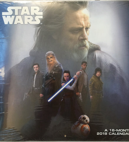 Star Wars Episode VIII 16 Month Calendar 2018 - WyldekardeWorld