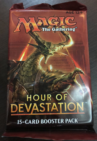 Hour of Devastation 15 Card Booster Pack - WyldekardeWorld