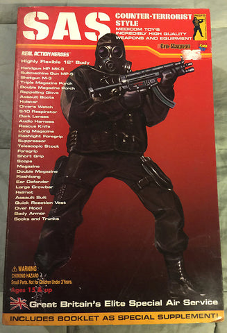 "Medicom SAS Counter-Terrorist Style 12"" Action Figure - WyldekardeWorld"