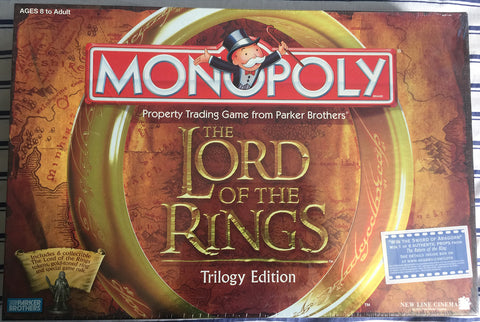 Monopoly - The Lord of the Rings Trilogy Edition - WyldekardeWorld