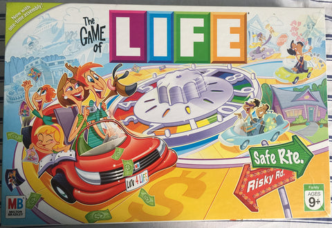 The Game of Life Board Game - WyldekardeWorld