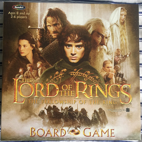 Lord of the Rings: The Fellowship of the Ring Board Game. - WyldekardeWorld