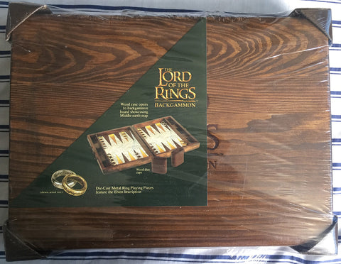 Lord of the Rings Backgammon - WyldekardeWorld