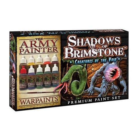 Shadows of Brimstone: Creatures of the Void Army Painter Set