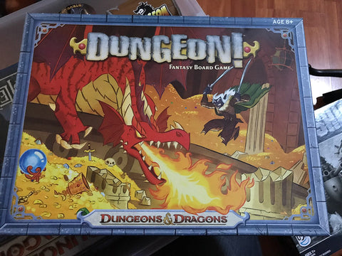 Dungeon Fantasy Board Game by Dungeons & Dragons - WyldekardeWorld