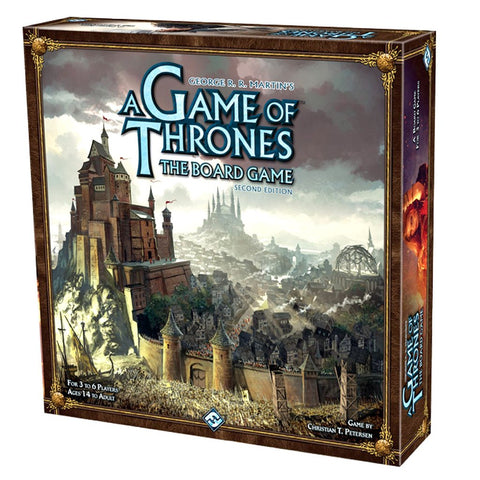 A Game of Thrones The Board Game Second Edition - WyldekardeWorld