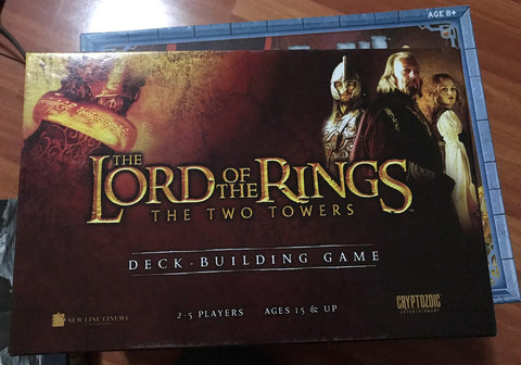 Lord of the Rings  The Twin Towers Deck Building Game