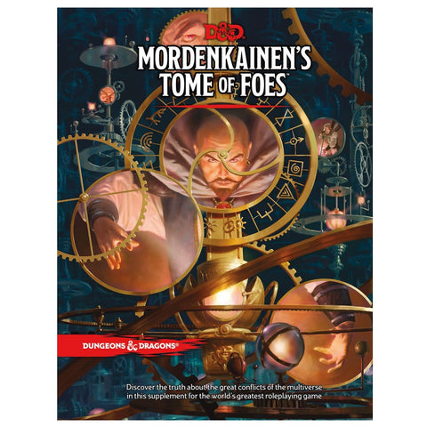 DUNGEONS AND DRAGONS MORDENKAINENS TOME OF FOES