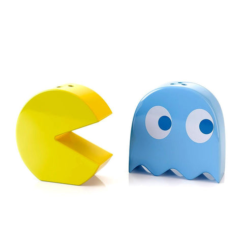Pac-Man Salt and Pepper Shaker Set
