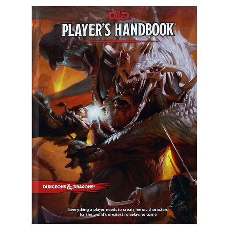 Player's Handbook Dungeons and Dragons 5th Edition