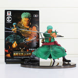 Anime One Piece Figure Decisive Battle Version Roronoa Zoro PVC Figure Toy Collection Model Toys 13cm Approx - WyldekardeWorld