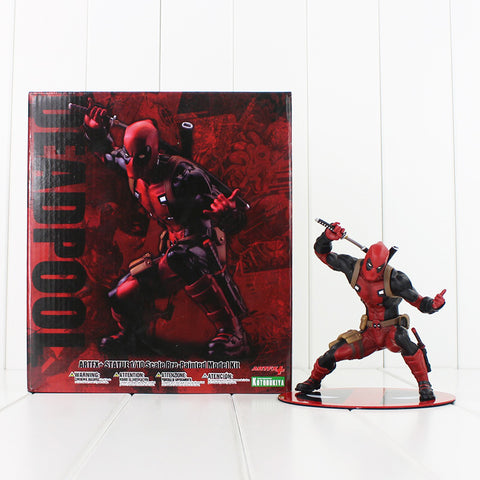 13cm New Deadpool  Nowi Artfx Statue PVC Figure Actions Model Toys Kids Doll Gifts - WyldekardeWorld