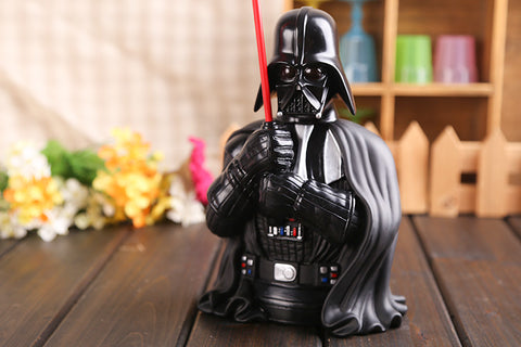 Movie Star Wars Darth Vader Piggy Bank Save Money Box PVC Action Figure Collectible Model Toy 22cm KT425 - WyldekardeWorld