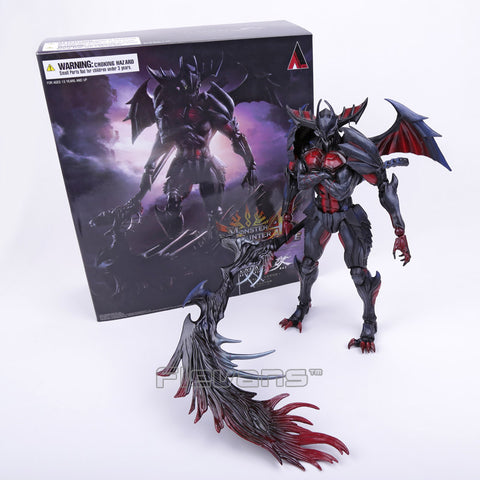Monster Hunter 4 ULTIMATE PVC Action Figure Collectible Model Toy 27cm - WyldekardeWorld
