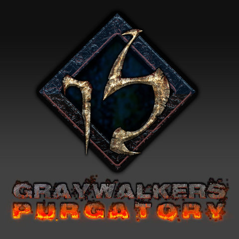 "Graywalkers Purgatory ""Limited Collectors Package"" ($150) (Pre-Selling)"