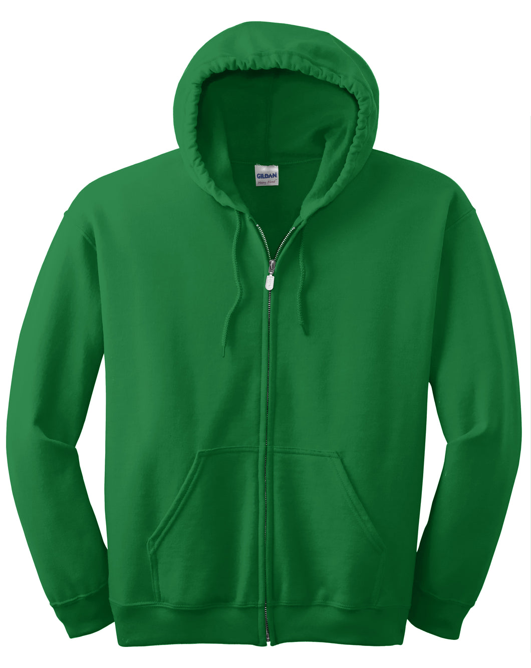 Garment Styles - Full-Zip Hooded Sweatshirt