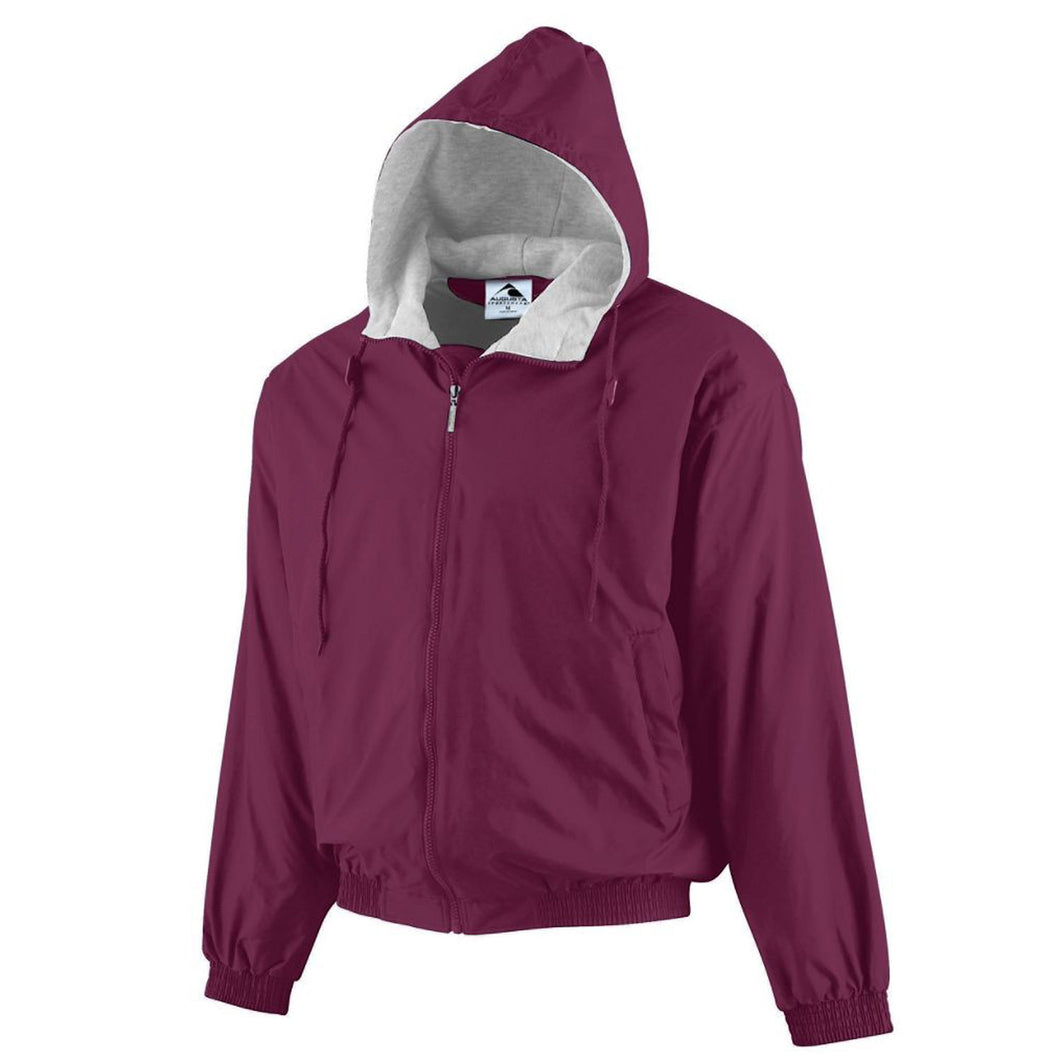 Garment Styles - Hooded Jacket with Fleece Lining
