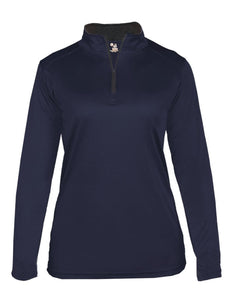 Garment Styles - 1/4 Zip Moisture Wicking Ladies