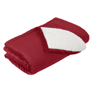 Garment Styles -Fleece Blanket with Soft Sherpa