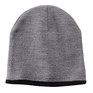 Garment Styles - Beanie with Contrasting Trim Cap