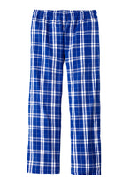 Garment Styles - Flannel Plaid Pant