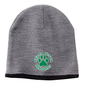 Delta Vista Panthers Spirit 2018 - Beanie with Contrasting Trim Cap