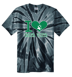 Delta Vista Panthers Spirit 2018 - Tie Dye T