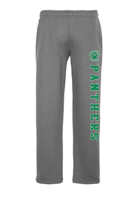 Delta Vista Panthers Spirit 2018 - Gildan Open Bottom Sweatpants