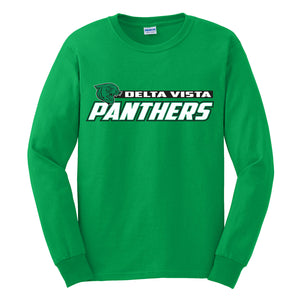 Delta Vista Panthers Spirit 2018 - Long Sleeve T Shirt