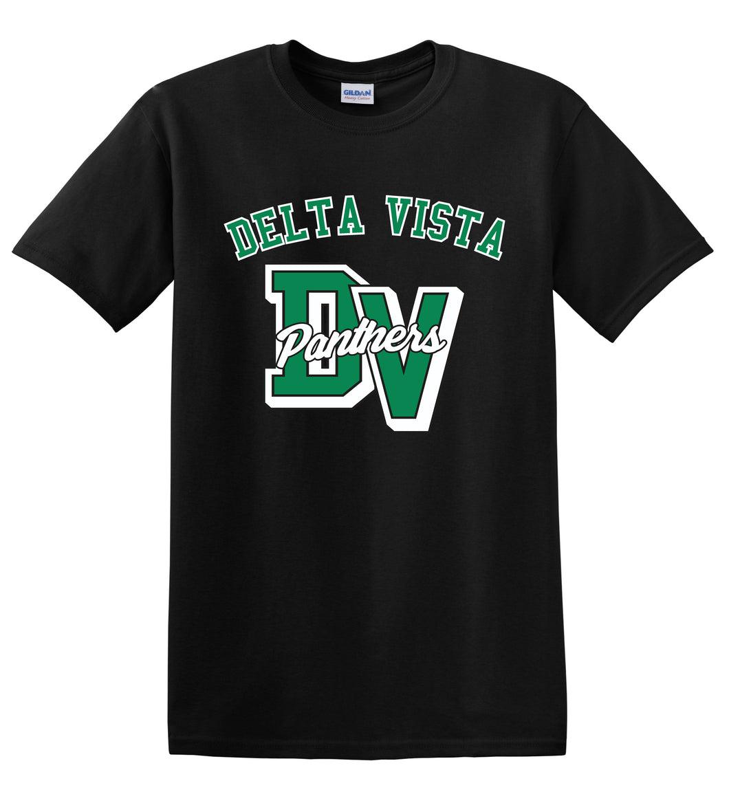 Delta Vista Panthers Spirit 2018 - Cotton T Shirt