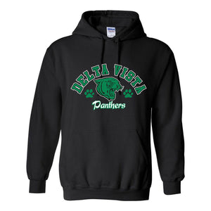 Delta Vista Panthers Spirit 2018 - Hooded Sweatshirt