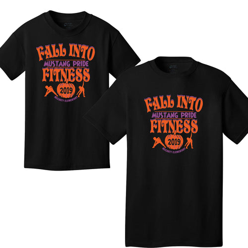 McCarty Elementary Fall Fitness 2019 - Cotton T-Shirt