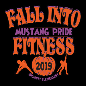 McCarty Elementary Fall Fitness 2019 - Hooded Sweatshirt
