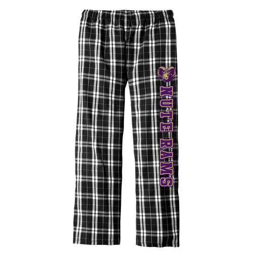 Nute Rams 2017 - Flannel Plaid Pant